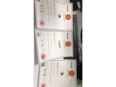 恭贺鼎驰国际商标证书申请成功